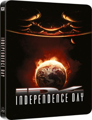 Independence Day (Exclusive Limited Edition Steelbook) [Blu-Ray] [UK Import]