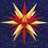 Herrnhuter Sterne, Stern i6, gelb-rot, für Innenbereich, Durchmesser ca. 60cm