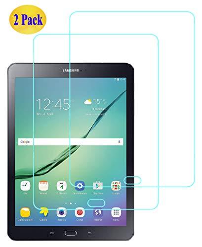 Eachy Vetro Temperato Samsung Galaxy Tab S2 9.7 Pellicola Protettiva, [2 Pezzi] Protezione Schermo per Samsung Galaxy Tab S2 9.7 (SM-T813/SM-T819)-9.7 Pollici