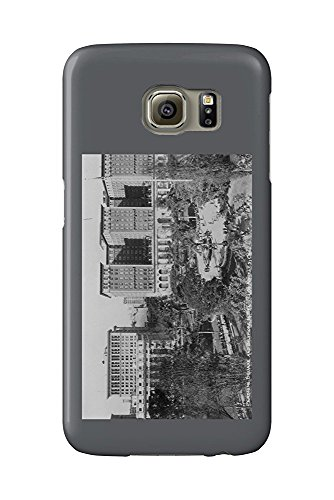 Los Angeles, CA Perishing Square and Biltmore Hotel Photograph (Galaxy S6 Cell Phone Case, Slim Barely There)