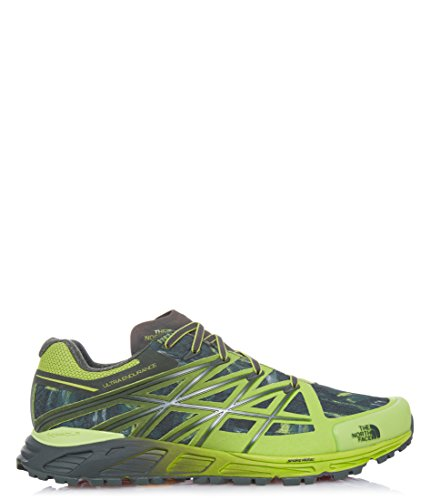 The North Face M Ultra Endurance, Chaussures de Trail Homme Verde (Lmgn/Clbgivgnfd)