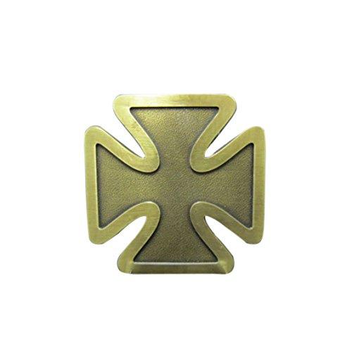 Eisernes Kreuz, Iron Cross, antik Messing, Gürtelschnalle ()