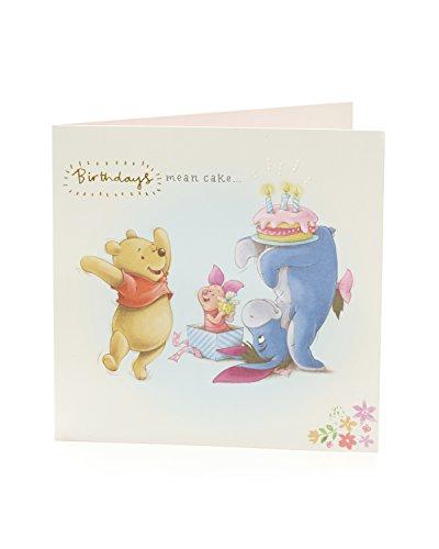 Carlton 795509-0Disney Winnie the Pooh Geburtstagskarte