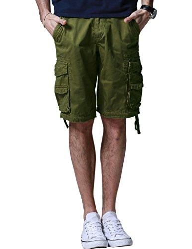 Match Herren Cargo Shorts #S3620 3612 Armee green