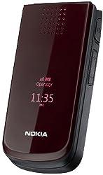 Nokia 2720 Handy (Bluetooth, Opera Mini, Kalender, Radio) fold deep red