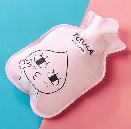 Jadebin Cute Child Winter Cartoon Mini Cute Hot Water Bottle Water Bag Hot Hand Treasure - Pink Rabit