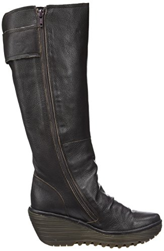 FLY London Damen Yulo688fly Stiefel Braun (Chocolate)