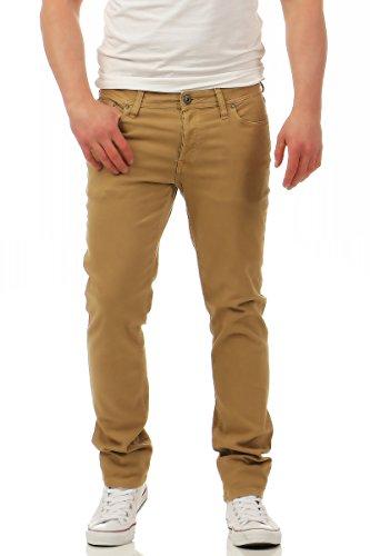 JACK & JONES Herren Slim Jeans Kelp