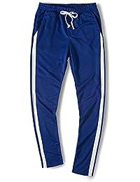 KPPONG Pantalon de Jogging Homme Coton Mode Casual Chino Collants de Sport  Pas Cher Legging de d975df99a5d