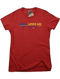 Bathroom Wall Star Wars Inspired Lando Gas Bespin, Women's T-Shirt