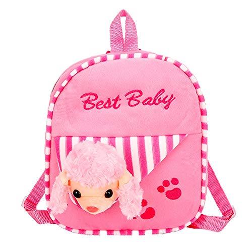 Bfmyxgs Süße Tasche für Kinder Tiere Rucksäcke Mädchen junge niedliche Schulranzen Kinder Cartoon Geschenke Schule Taschen Rucksack Schultertasche Handtasche Münze Tasche Taille Beutelpackung ()