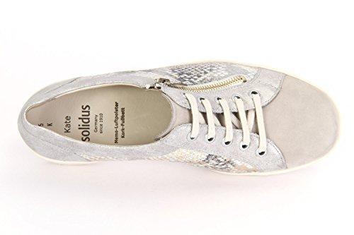 Solidus  Kate, Chaussures de ville à lacets pour femme grey/grey/cream