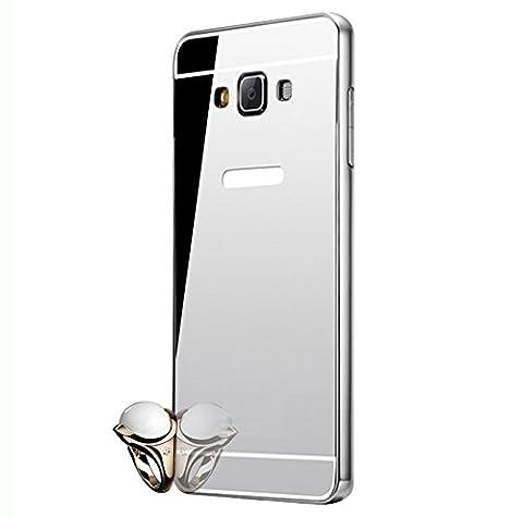 Semoss Ultra Thin Aluminium Coque Métal Miroir Houssen pour Samsung