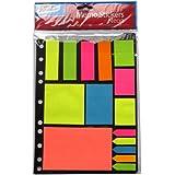 Pegatinas de neón Memo - Colorido, diversos pabellones, formas y tamaños