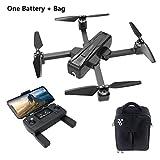 TianranRTJjr/C X11 5G Wifi Fpv 2K Gps Drone Rc Sin Escobillas Con Gimbal Y Bolsa de Un Solo Eje (Negro)