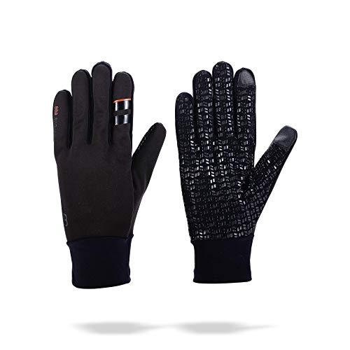 BBB Cycling Fahrradhandschuhe Winter RaceShield WindBlocker   Damen und Herren Wetterfeste Thermo Winddicht Touchscreen Handschuhe BWG-11W