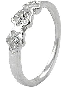 Gallay Ring für Kinder Zirkonia Silber 925 Gr 42