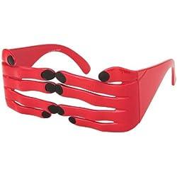 Alsino Sonnenbrille Funbrille Spaß Brille Finger rot 33