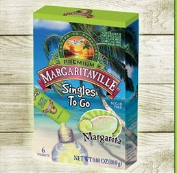 Margaritaville Singles to Go Drink Mix, Margarita, 6 Count (Pack of 6) by Margaritaville Foods