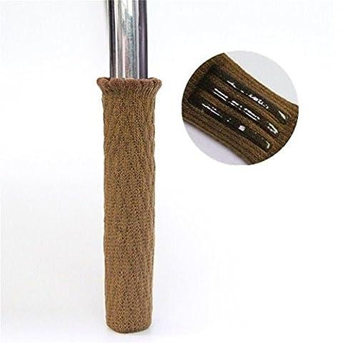 Chairr/Chaussettes de table (lot de 4), laine à tricoter Pieds de meubles Pad Knit Socks–fiable meubles et sol Patins de protection (Zyjt01)