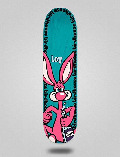 lordofbrands Birdhouse Pro Deck Loy Rabbit Blue 8.125 Skateboard Deck