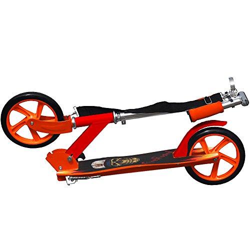 Trottinette pliable roues XXL avec sangle incluse designe au choix