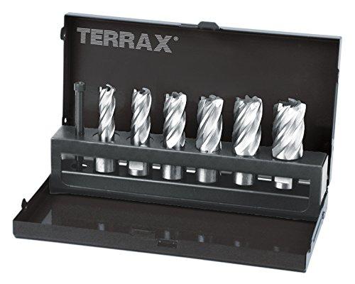 "Ruko Terrax Kernbohrer Satz Weldon 12-22 mm30 mm Schnittife, 108820\"""