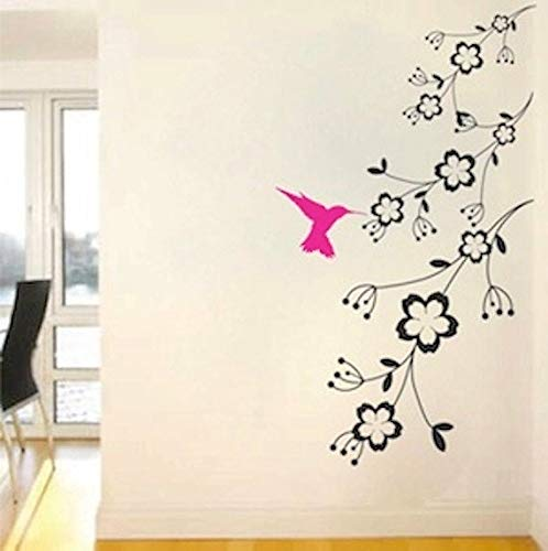 Kolibri Feeder Vinyl Wall Decal Vogel Wall