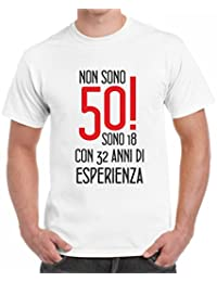Amazon It 50 Anni Di Compleanno 4121316031 Abbigliamento