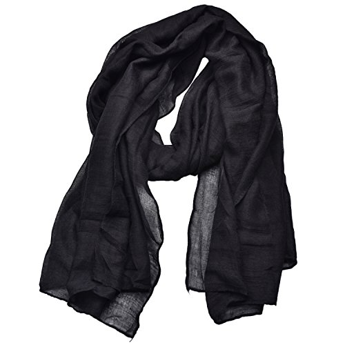 Outrip Womens Cotton Scarves Ladies Light Soft Fashion Scarf Neck Solid Wrap Shawl