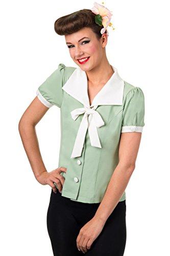 Banned Apparel - Camicia -  donna verde 38
