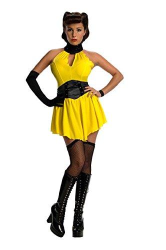 Watchmen' Kostüm für Damen Gr. XS-S, Größe:S (Sexy Sally Kostüme)