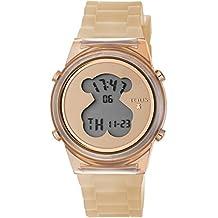 Reloj TOUS D-Bear Fresh de policarbonato con correa de silicona nude