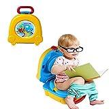 Orinal de viaje portátil con asa de transporte, para niños y niñas, para entrenamiento de...