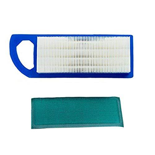 Luftfilter Rasenmäher Reinigungsset Für Briggs Stratton Mähfilter + Filter Baumwolle Für Briggs 697153 795115 794422 698083 Luftreiniger