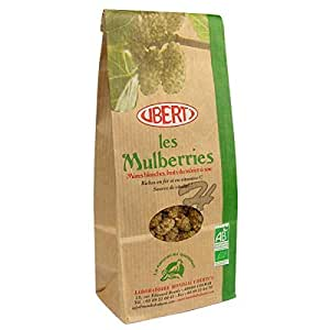 UBERTI Mulberries Bio Mûres blanches - 400g
