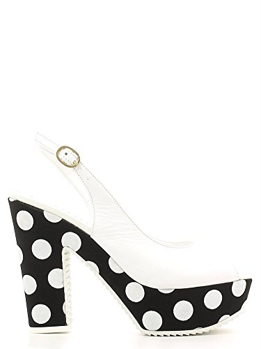GRACE SHOES PA03T Sandalo tacco Donna Bianco