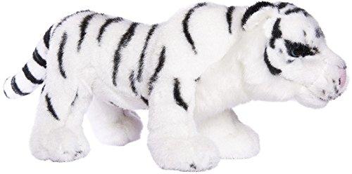 Plüschtier Kuscheltier Plüsch Stofftier - Weißer Tiger Löwe Stofftiger Stofflöwe (Tiger) (Gefüllte Dschungel Tiere)