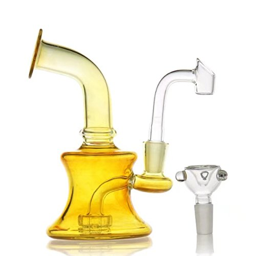 P-Sungar Glss Bong wasser bongs Öl Rig Bongs Wasserpfeifen 14.4mm Joint Reifen percolator bubbler
