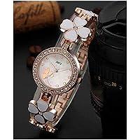 Att'z Analog Heart Deisgned Belt Multicolour Dial Women Watch & Girl's Watches-A1