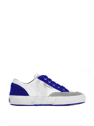 Sneakers - 2199-cotu LtGrey-Navy-GreySage