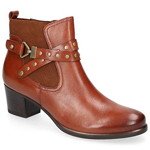 Caprice Damen 9-9-25322-21 303 Chelsea Boots, Braun (Cognac Nappa 303), 39 EU
