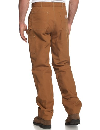 Carhartt .B01.brn.s426 Firm Duck Double-front Work Dungaree, W36l36, Brown