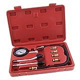 Sharplace Probador de Compresión de Motor Gasolina Medidor Herramienta de Laboratorio Equipo Trabajo