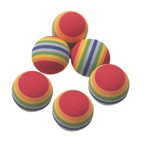 Balls Rainbow mehrfarbig (Rainbow-golf-carts)