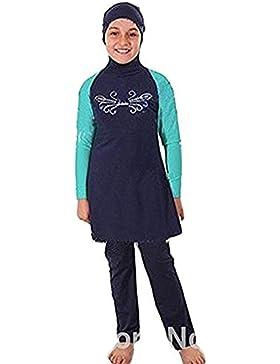 Muslimische Bademode Kinder Top-Qualität Modest Badeanzug für islamische Junge Mädchen