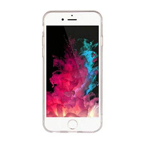 "MOONCASE iPhone 6 Plus Coque, Ultra Mince Motif Etui Souple TPU Silicone Antichoc Housse Case pour iPhone 6 Plus / iPhone 6s Plus (5.5"") (Fleur 04) Fleur 03"