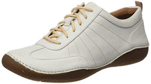Clarks Autumn Garden, Sneakers Basses Femme Blanc (White Nubuck)