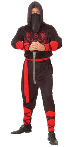 Imagen de wicked  disfraz de guerrero ninja para hombre, talla xl em 3003. xl  alternativa