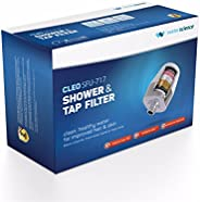 """Cleo SFU 717 Shower & Tap Filter - Fits 1/2"""" Wall & Handheld Showers and 24mm Aerator Taps - Redu"""